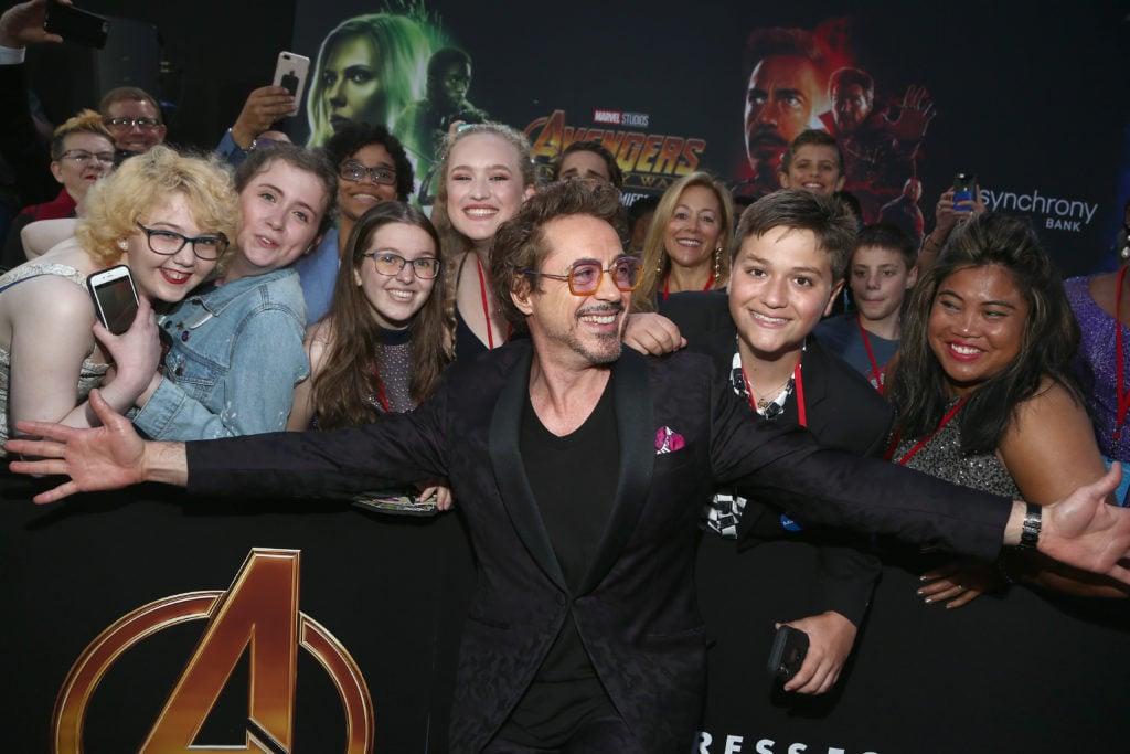 Infinity War Premiere