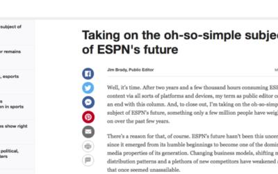 ESPN Public Editor