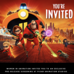 "Pixar Animation Studios' ""Incredibles 2"" Screening to Benefit Women in Animation"