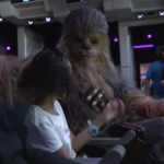 Watch Chewbacca and Friends Ride Star Tours at Disney's Hollywood Studios