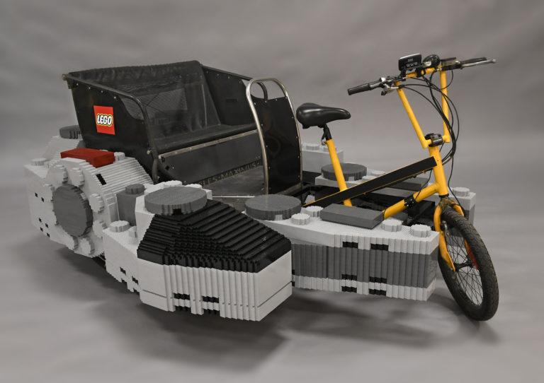 LEGO Pedicab