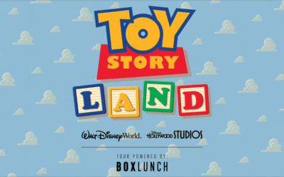 Toy Story Land Mall Tour