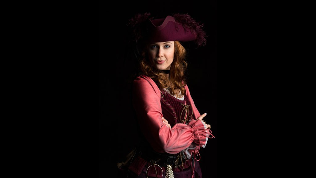 Redd Red Head pirate