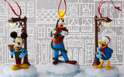 Disney Hallmark Ornaments Mickey, Donald, Goofy