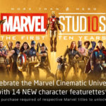 Marvel Studios Celebrates 10 Years with 14 Digital Exclusive Bonus Features