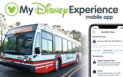Disney Bus Times