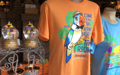Disneyland Celebrates Enchanted Tiki Room Anniversary with Specialty Merchandise