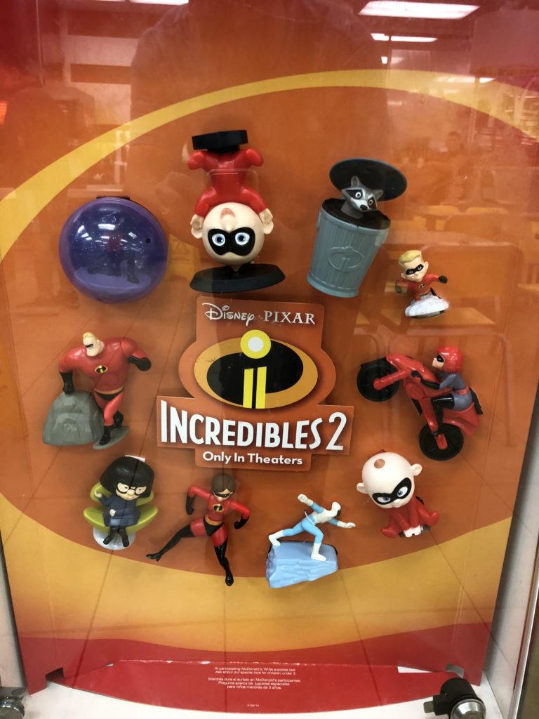 """Disney Pixar """"Incredibles 2"""" Happy Meals at McDonalds ..."""