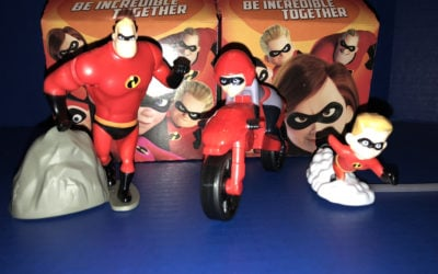 "Disney Pixar ""Incredibles 2"" Happy Meals at McDonalds"