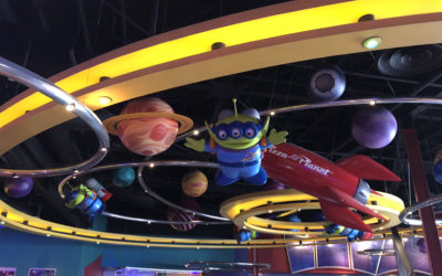 Take Lunch to Infinity and Beyond at Disneyland's Alien Pizza Planet