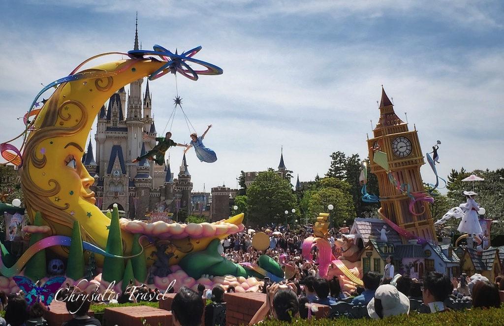 """""""Dreaming Up!"""" Parade Soars into Tokyo Disneyland"""