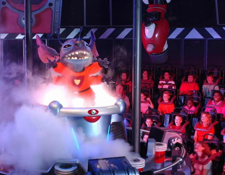What is the exact name of the Magic Kingdom Attraction based on Stitch?