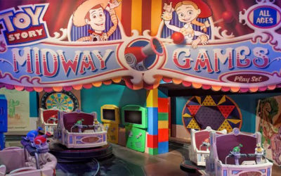 100 Days of Pixar: Toy Story Midway Mania!
