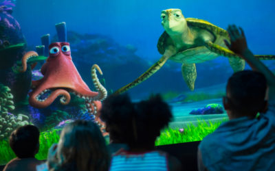 100 Days of Pixar: Turtle Talk with Crush and Monsters, Inc. Laugh Floor