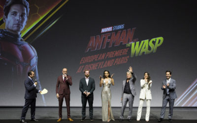 "Walt Disney Studios Park at Disneyland Paris Hosts ""Ant-Man and the Wasp"" European Premiere"