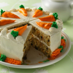 Carrot Cake with Raisins