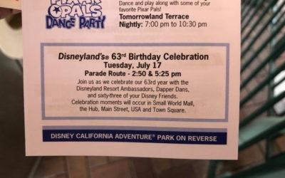 Disneyland 63rd