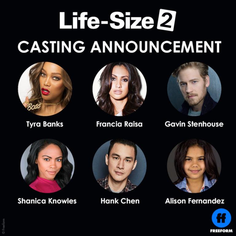 Life Size 2 cast