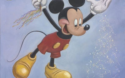Disney Reveals Official Mickey Mouse 90th Birthday Portrait