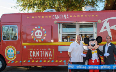 4 Rivers Cantina Barbacoa Food Truck Opens at Disney Springs