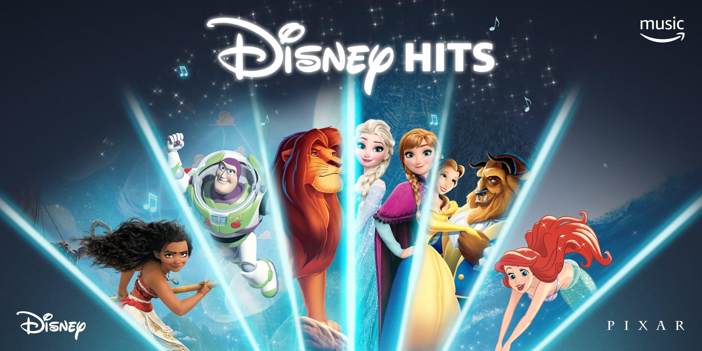 Disney and Amazon Announce Disney Soundtracks Now Streaming on Prime