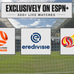 ESPN+ Signs Multi-Year Agreement with Three Additional Top Division Soccer Leagues