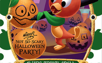 Orange Bird Spell Card