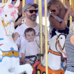 Jimmy Kimmel And Family Spend the Day at Disneyland