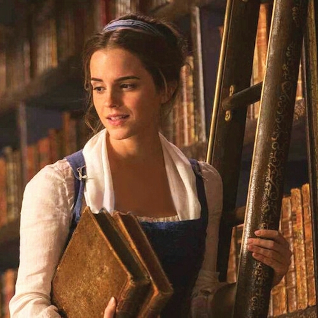 In this version, Belle designs a clever way to do what?