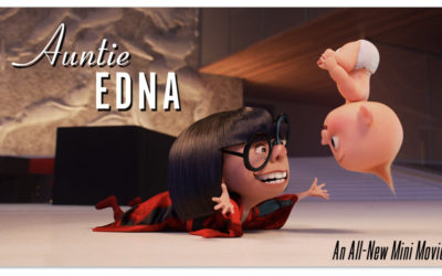 """Auntie Edna"" Short to Be Included on ""Incredibles 2"" Digital and Blu-ray Releases"