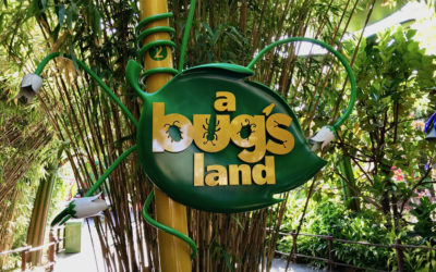 So Long to the First Pixar Land - a bug's land