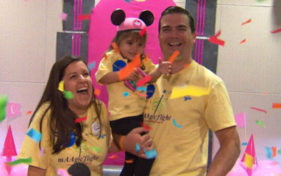 Four-Year-Old Girl Gets Royal Sendoff for Her Make-A-Wish Disney World Trip