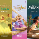 5 Disney Princess Films are Returning to AMC Theatres this Fall