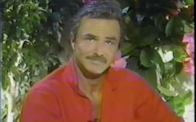Actor Burt Reynolds Has Passed Away at the Age of 82