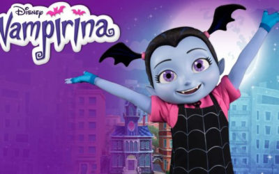Disney Parks Give First Look at Vampirina Meet and Greet Character Debuting This Weekend