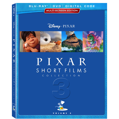 Pixar Short Film Collection Volume 3
