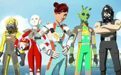 Star Wars: Resistance Team Aces
