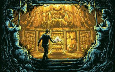 Indiana Jones–Inspired Artwork