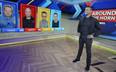 "ESPN's Integrates Augmented Reality on ""Around the Horn"""