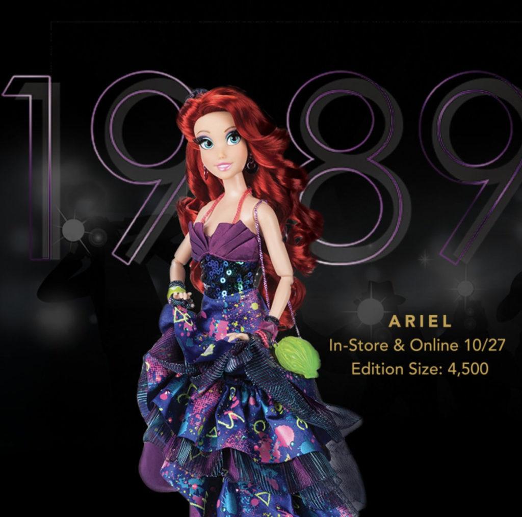 Ariel Disney Designer Collection Premiere Series Now Available