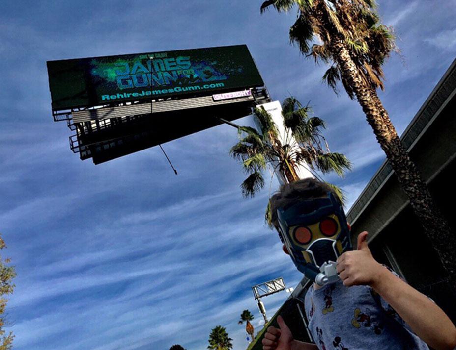 Rehire James Gunn Billboard
