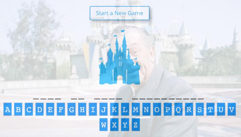 Disney Games - Hangman and Quizzes Online