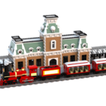 LEGO Fan-Designed Walt Disney World Main Street Train Station Gets Staff Pick Feature