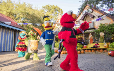 Sesame Street Kids' Weekends Return to Busch Gardens for Halloween Fun