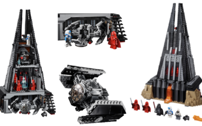 Darth Vader Castle Set