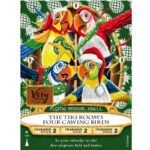 Holiday Party Exclusive Sorcerers Card Features Enchanted Tiki Room Birds