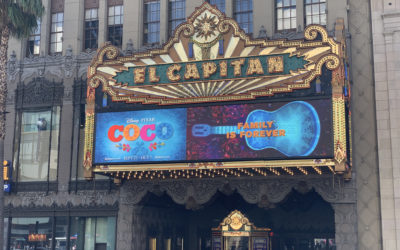 "Pixar's ""Coco"" Now Playing at El Capitan Once Again"
