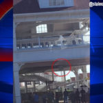 Walt Disney World Monorail Door Falls Off at Grand Floridian Resort Stop