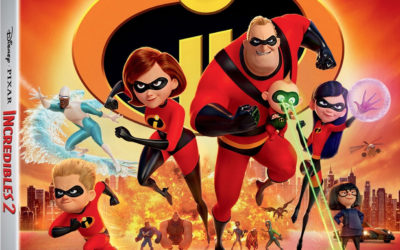"Blu-Ray Review: Disney•Pixar's ""Incredibles 2"""
