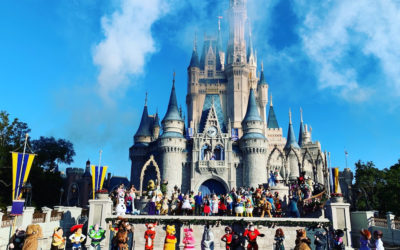 "90 Disney Characters Celebrate Mickey's 90th on ""Good Morning America"""